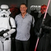 Merrick Watts, Storm Trooper and Darth Maul Clone Trooper and Darth Maul  at Australian Premiere of Star Wars: Episode I - The Phantom Menace 3D in Sydney