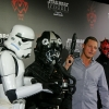 Merrick Watts, Storm Trooper, TIE Fighter Pilot and Darth Maul Clone Trooper and Darth Maul  at Australian Premiere of Star Wars: Episode I - The Phantom Menace 3D in Sydney