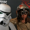 Strom Trooper and Anakin Skywalker at Australian Premiere of Star Wars: Episode I - The Phantom Menace 3D in Sydney
