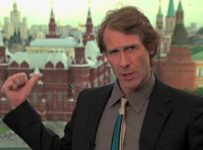 Michael Bay in Moscow for 'Transformers: Dark of the Moon' premiere
