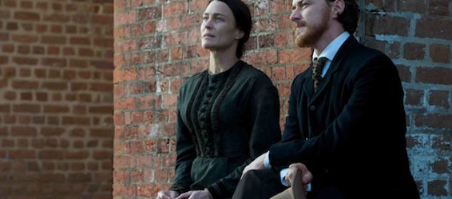 The Conspirator - James McAvoy and Robin Wright