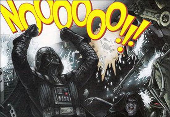 Star Wars - Darth Vader - Nooooo