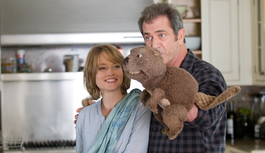 JODIE FOSTER and MEL GIBSON star in THE BEAVER