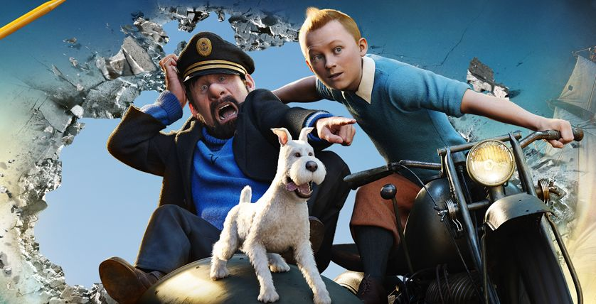 The Adventures of Tintin Standee Art