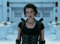 Milla Jovovich as Alice in Resident Evil: Afterlife