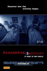 Paranormal Activity 3 - Australian poster