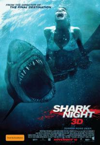 Shark Night 3D poster - Australia