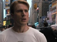 Captain America in The Avengers (Times Square)