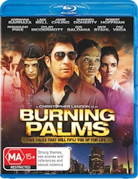 Burning Palms Blu-ray Cover