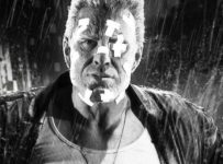 Mickey Rourke as Marv in Sin City