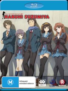 The Disappearance of Haruhi Suzumiya Blu-ray cover