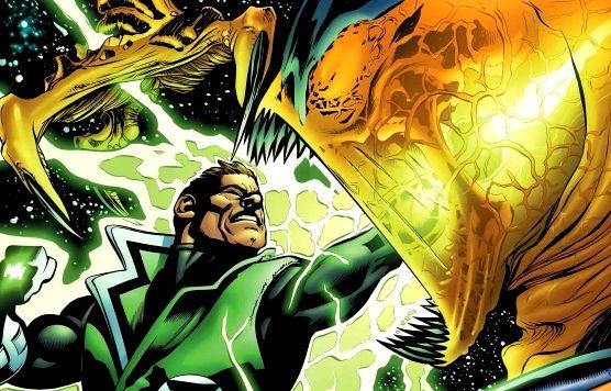 Green Lantern Vs. Parallax - DC Comics