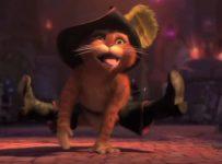 Puss in Boots dancing