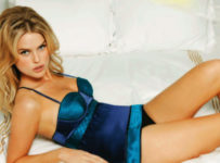 Alice Eve, pictured here in lingerie, to be in Star Trek 2 sequel