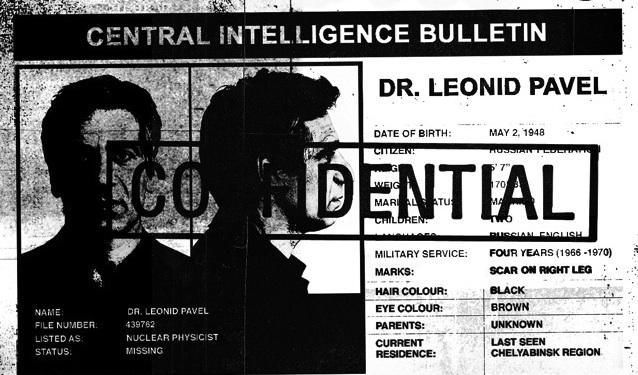 Dr. Leonid Pavel - Confidential