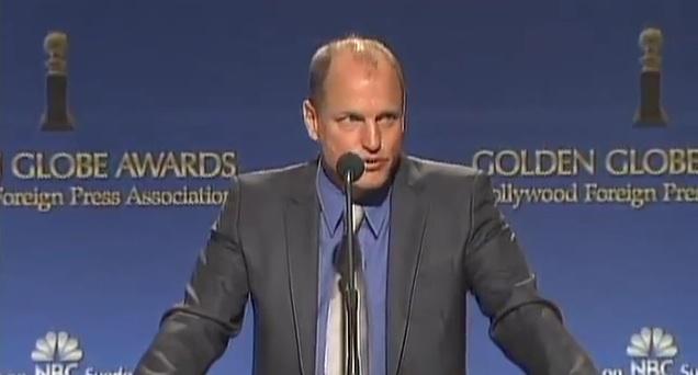 69th Golden Globes Announcement - Woody Harrelson