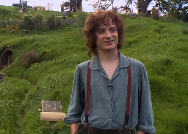 The Hobbit Production Diaries - Elijah Wood