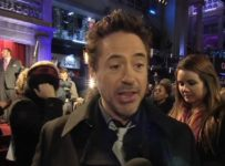 SHERLOCK HOLMES: A GAME OF SHADOWS - London Premiere - Robert Downey Jr.