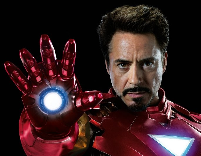 Tony Stark (Iron Man) - Robert Downey Jr in The Avengers