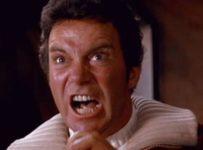 "William Shatner (James T. Kirk) say ""Khaaaan"""