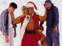 Santa with Muscles (1996) poster - Hulk Hogan