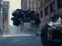 The Dark Knight Rises - Batman can fly!
