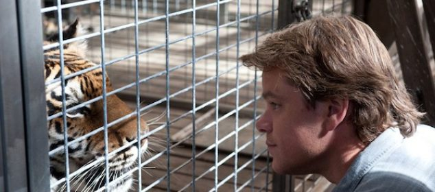 We Bought A Zoo - Matt Damon and a tiger