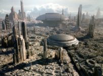 Star Wars - Coruscant Skyline