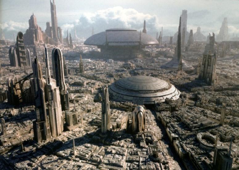 Star Wars - Coruscant Skyline
