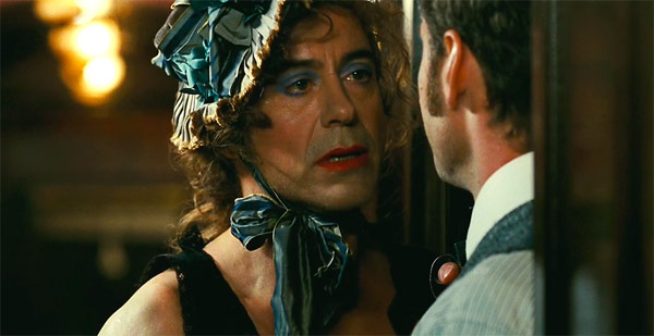 Sherlock Holmes: A Game of Shadows - Robert Downey Jr in drag
