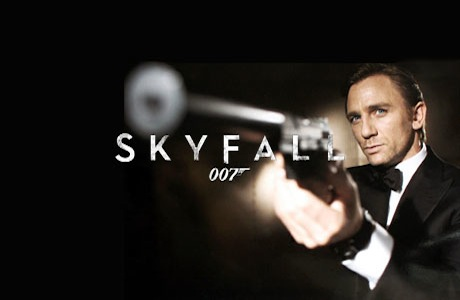 Skyfall 007 James Bond Logo