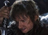MARTIN FREEMAN as Bilbo Baggins in New Line Cinema's movie a ­THE HOBBIT: AN UNEXPECTED JOURNEY