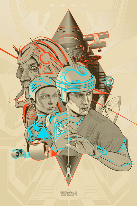 Two Very Cool Mondo Posters For Tron And Tron Legacy The