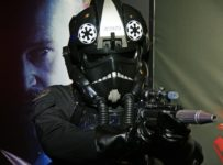 TIE Fighter Pilot at Australian Premiere of Star Wars: Episode I - The Phantom Menace 3D in Sydney