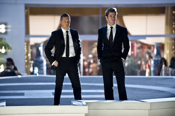 This Means War - Tom Hardy and Chris Pine