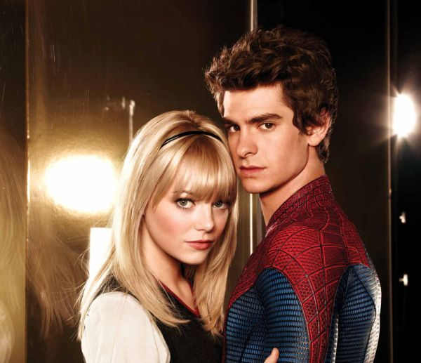 The Amazing Spider-man - Andrew Garfield and Emma Stone