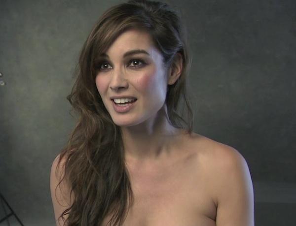 Bérénice Marlohe (practically nude!) plays Severin in James Bond SKYFALL