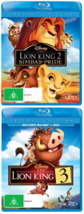 The Lion King Blu-ray Double