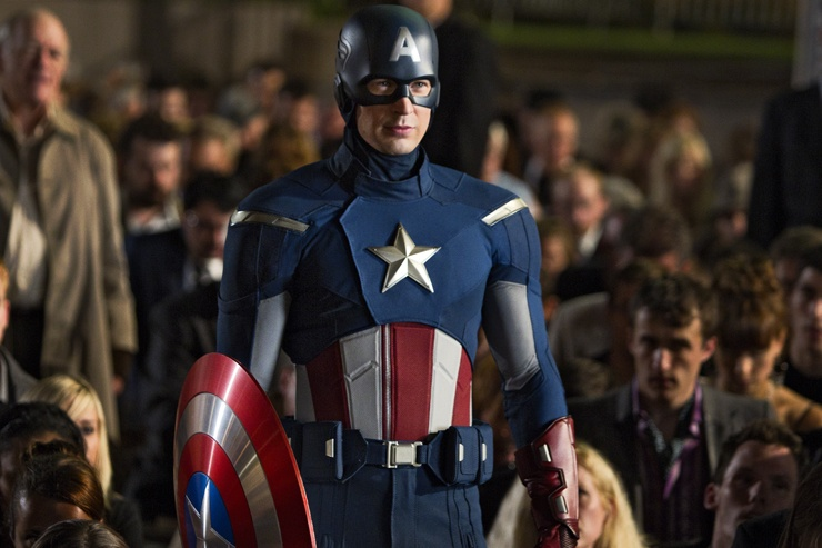 The Avengers (2012) - Captain America (Chris Evans)