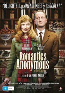 Romantics Anonymous poster - Australia