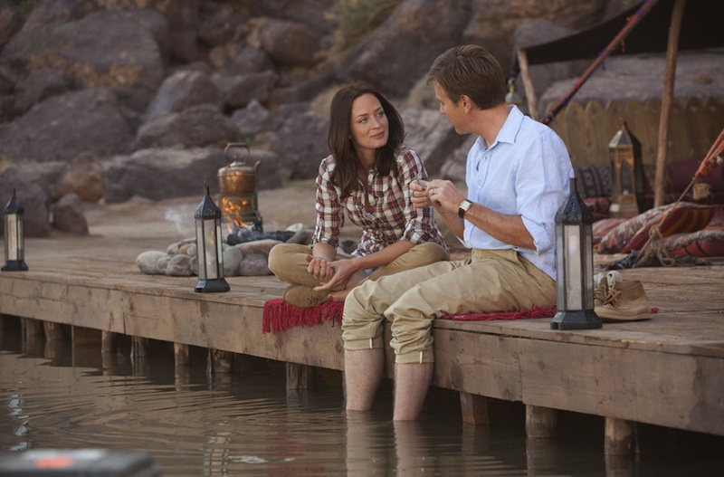 Salmon Fishing in the Yemen - Ewan McGregor and Emily Blunt