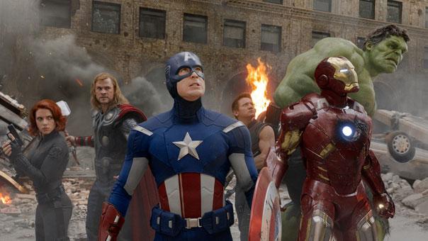The Avengers Assemble on Film