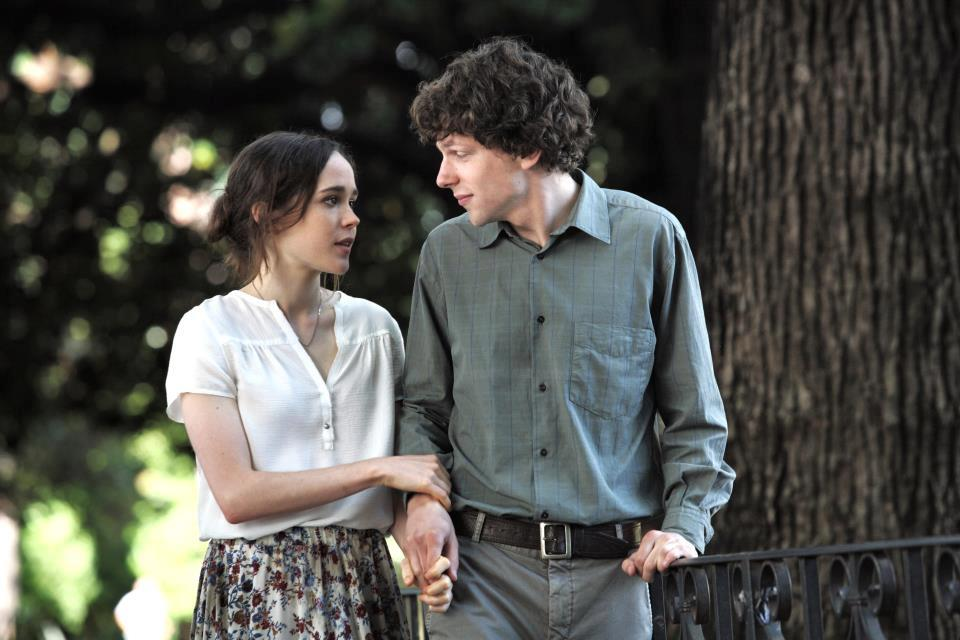 To Rome With Love - Ellen Page and Jesse Eisenberg