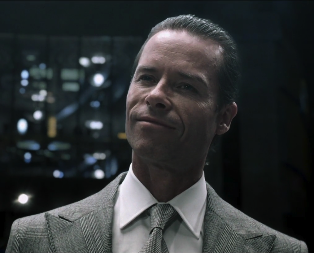 Guy Pearce is Weyland (Prometheus)