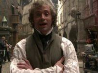 Hugh Jackman on the set of Les Misérables