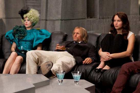 The Hunger Games - Watchin Television