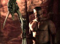 Shirtless Vin Diesel in RIDDICK