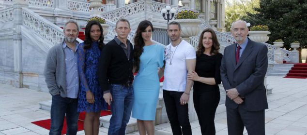 SKYFALL - Istanbul Press Conference