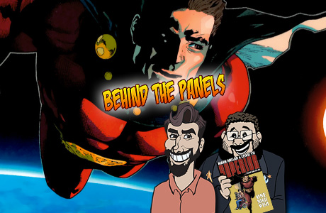 Behind The Panels Issue 30 Banner – Superior