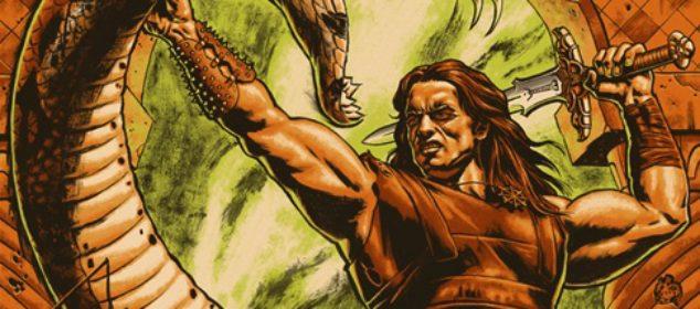 Conan the Barbarian - Mondo poster - Jason Edmiston